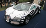 Bugatti Veyron Grand Sport L'Or Blanc Debuts at The Quail