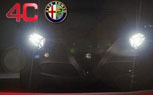 Alfa Romeo 4C Sportscar Teased Ahead of Frankfurt Debut