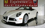 Alfa Romeo 8C Spider Spotted For Sale In Fort Lauderdale, Florida