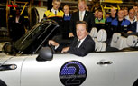 Two Millionth MINI Built At Oxford Plant, PM David Cameron Attends