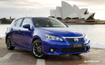 2012 Lexus CT 200h Gets F Sport Package