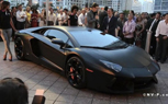 Matte Black Lamborghini Aventador LP700-4 Unveiled in Miami [video]