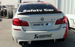 2012 BMW M5 Safety Car With Akrapovic Exhaust [Video]