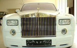 Gold-Plated, Armored Rolls-Royce Phantom Valued At $8.15 Million