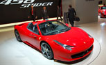 Covers Come Off Ferrari 458 Spider [Frankfurt Auto Show 2011]
