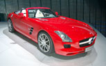 Mercedes-Benz SLS AMG Roadster Swaps Gullwings for Soft Top: Frankfurt Auto Show 2011