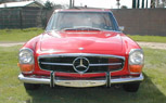 John Travolta's 1970 Mercedes 280SL Stolen Outside Jaguar Dealer