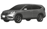 2012 Honda CR-V Patent Drawings Reveal Final Design