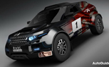 Land Rover Evoque to Take on Dakar Rally With BMW Power