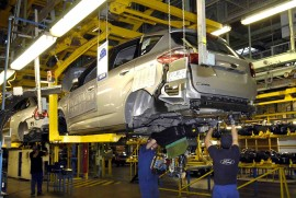 C-MAX production at Valencia plant