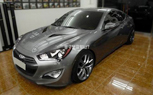 2013 Hyundai Genesis Coupe Spy Photo Shows Off Veloster Nose