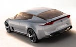 Kia GT Concept: Leaked Photos Reveal Name of New RWD Performance Sedan