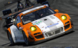 Porsche GT3 R Hybrid Crosses Finish Line First, But Doesn't Win at Laguna Seca ALMS Race