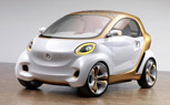 Smart Forvision Concept Rolls to Frankfurt Motor Show on Plastic Wheels