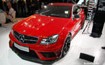 Mercedes-Benz C63 AMG Black Series Coupe: Frankfurt Motor Show 2011