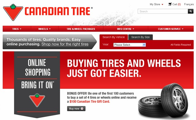 canadian tireu0027s new online store comes with help me choose feature news