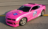 Pink Chevy Camaro Pace Car to Raise Funds to Fight Breast Cancer During NASCAR Race