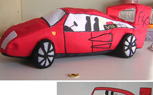 Turn Your Kid's Racing Car Drawings Into Plush Toys