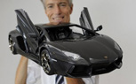 Scale Model Lamborghini Aventador Costs $4.8 Million, 15 Times More than the Real One