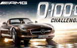 Race the SLS AMG Roadster in Mercedes 0-100-0 Challenge App