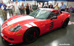Ron Fellows Inducted into Corvette Hall of Fame, Given Custom Vette to Celebrate [video]