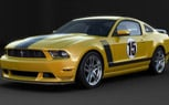 One-Off School Bus Yellow Ford Mustang Boss 302 to be Auctioned for Charity