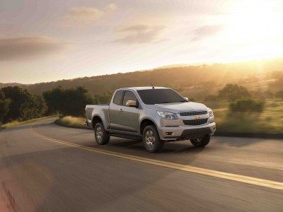 The all-new 2012 Chevrolet Colorado Extended Cab LTZ
