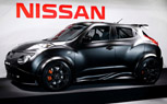 Nissan Juke-R Revealed in New Matte-Black Body
