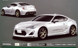 Toyota FT-86 Revealed in Leaked Brochure