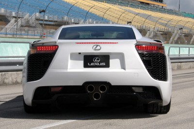 Lexus-LFA-Rear-View