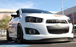 Chevy Sonic Concepts Feature Ricky Carmichael, Race Car – 2011 SEMA Show