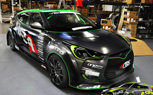 Hyundai Veloster Turbo by ARK Performance Revealed: SEMA Preview