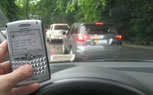 Blackberry Outage Leads To Fewer Accidents On The Roads