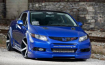 2012 Honda Civic Si Gets Custom Widebody, 450-HP Courtesy Fox Marketing: SEMA Preview