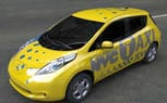Nissan Leaf Headed for New York City Taxi Duty