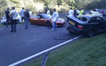 Eight Car Pile Up At The Nurburgring