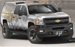 "Hardcore Chevy Silverado ""Realtree"" Concept to Debut at SEMA"