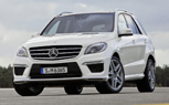2012 Mercedes ML63 AMG is a 516-HP Super Ute: LA Auto Show Preview