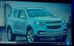 2013 Chevrolet Trailblazer Concept Revealed In India