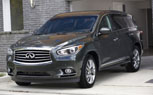 Infiniti 2013 JX Crossover Offers 3-Rows of Luxury, Priced from $40,450: 2011 LA Auto Show