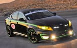 Kia Optima Hybrid USTCC Pace Car Revealed: 2011 SEMA Show