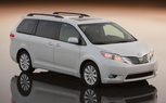 Toyota Sienna, Dodge Grand Caravan Frontrunners in 2011 Minivan Sales Race