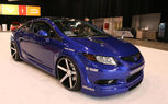Modified 2012 Honda Civics Revealed in Las Vegas: 2011 SEMA Show [Video]