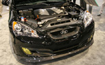 Hyundai Genesis Coupe 5.0L V8, Supercharged V6 First Look Video: 2011 SEMA Show