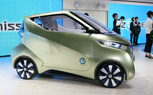 Nissan PIVO 3 Previews Urban Commuter EV of the Future: 2011 Tokyo Motor Show