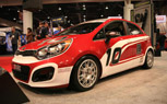 Kia Rio B-Spec is a DIY Race Car for Under 30K: 2011 SEMA Show