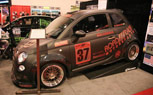 Road Race Motorsports Shows Off Track Tuned Fiat 500: 2011 SEMA Show