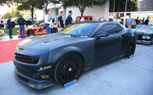 Matte Black Cars Gallery: 2011 SEMA Show