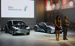 Paula Patton Assists BMW's North American Debut Of i3 And i8 Concepts: 2011 LA Auto Show