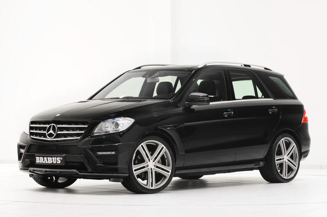 New Mercedes M-Class Gets The Brabus Treatment